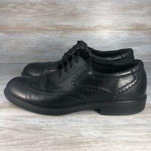 Ecco Dress Shoes Wingtip Oxfords Sz Eu 46 Us 12.5